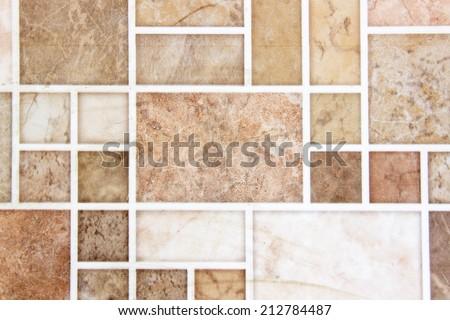 tiled floor - stock photo