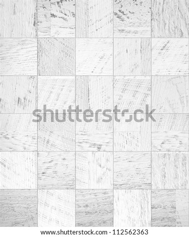 Tiled wood texture of shabby painted wooden plank - stock photo