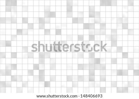Tiles white - grey - stock photo