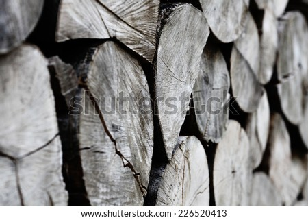timber background, natural wooden texture - stock photo