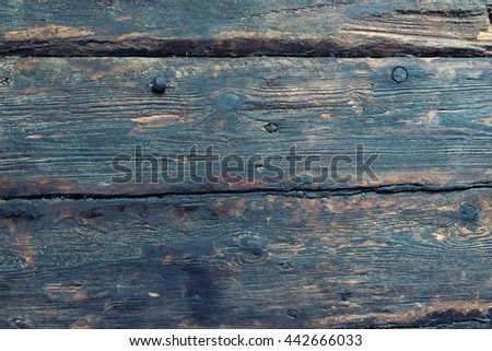 Timber brown wood plank texture, timber wall industrial background. - stock photo