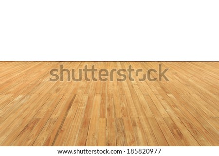 Timber decking - stock photo