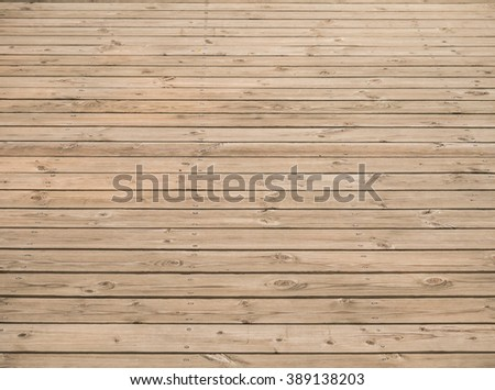 timber floorl background with screws - stock photo