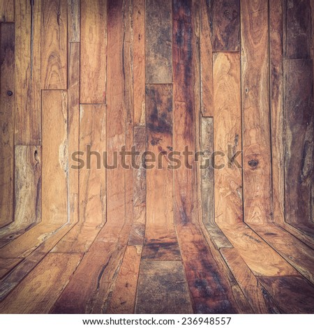 timber wood Industrial, brown wood plank texture background - stock photo