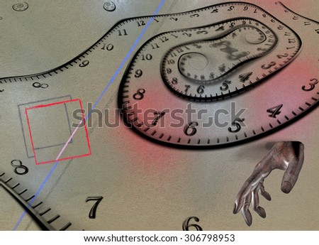 Time Abstract - stock photo