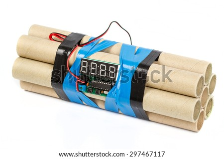 Time bomb - stock photo