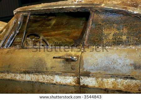 Time Capsule Plymouth Belvedere -  Tulsa, Oklahoma - stock photo