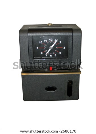 Time Clock - stock photo