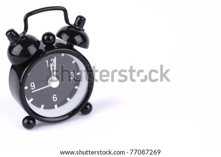 time concept , alarm clock - stock photo