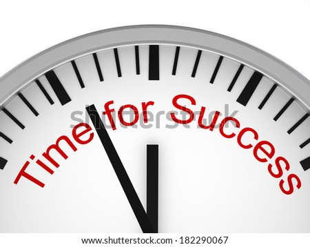 Time for  Success - stock photo
