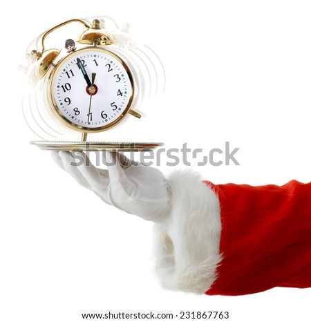 Time is running out for Christmas - stock photo
