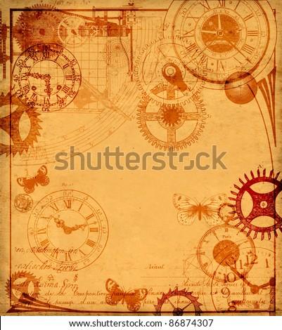 Time machine - stock photo