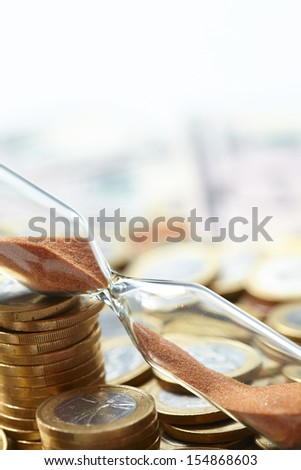 Time of money - stock photo