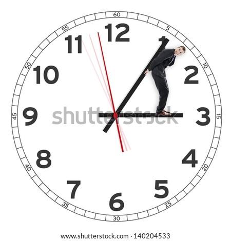 Time ticking away - stock photo