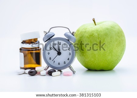 time to take care of your health - stock photo
