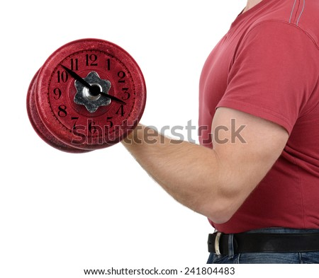 Time to work out - stock photo