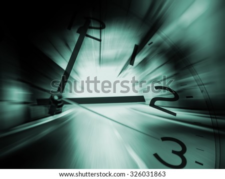 Time travel background - stock photo