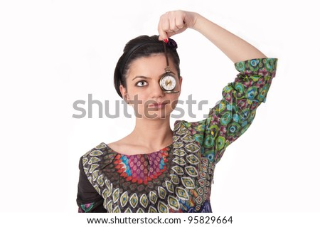 Time watching - stock photo
