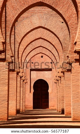 Tinmal Mosque in Morocco - stock photo