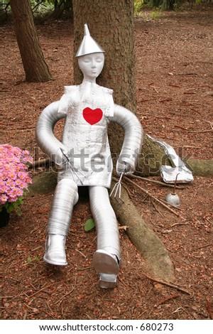 Tinman lifesize - stock photo