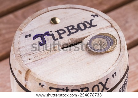 Tip Box - stock photo