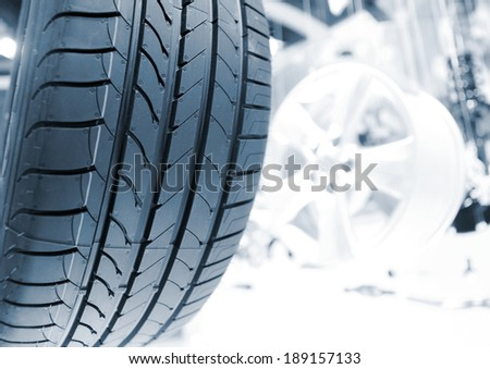 tire - stock photo