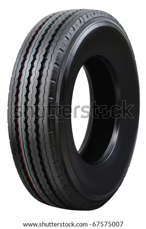 Tire. - stock photo