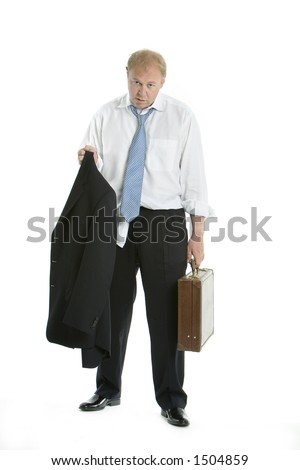 Tired and overcome - stock photo