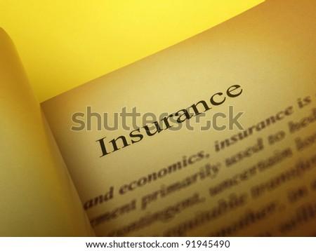 Title: Insurance - stock photo