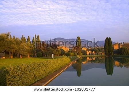 Tivoli, Lazio, Italy  - stock photo
