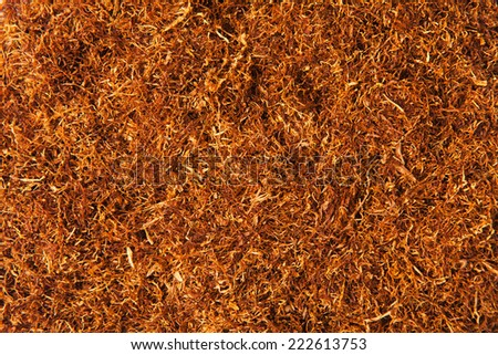 Tobacco texture - stock photo