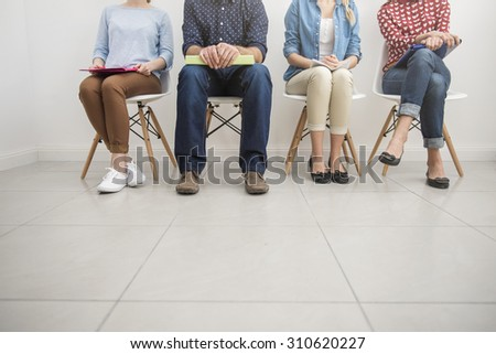 Today is the crucial day for them - stock photo