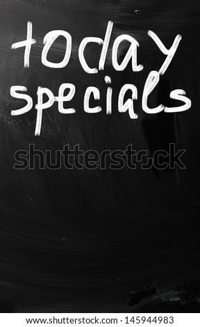 Today's Spacials - stock photo