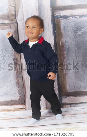Toddler boy - stock photo