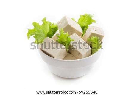 tofu - stock photo