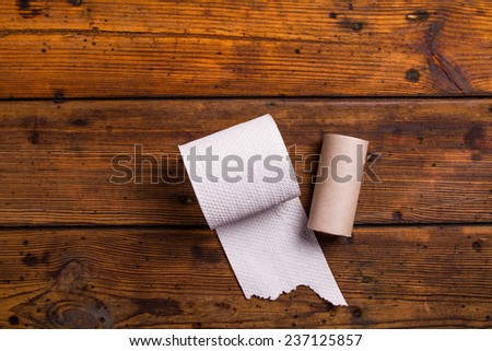 Toilet paper - stock photo