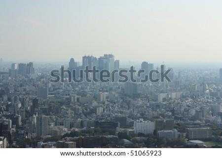 Tokyo View - stock photo