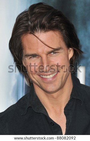 """Tom Cruise at the Los Angeles premiere of """"Super 8"""" at the Regency Village Theatre, Westwood. June 8, 2011  Los Angeles, CA Picture: Paul Smith / Featureflash - stock photo"""