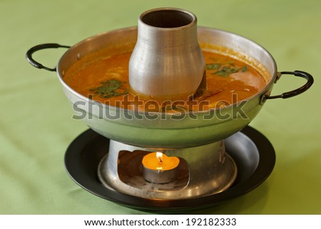 Tom Yum Soup, Thai Food  - stock photo