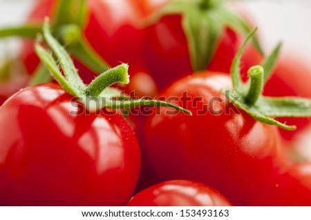 tomates cerises - stock photo