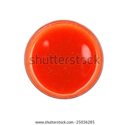 Tomato juice - stock photo