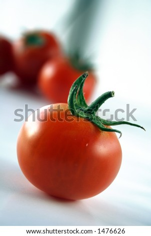 tomatoes fruit - stock photo
