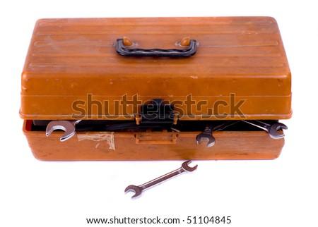 Tool box - stock photo