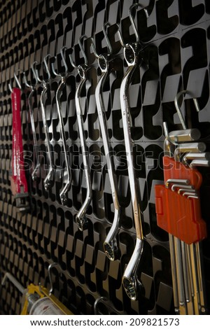 Tool Storage - stock photo
