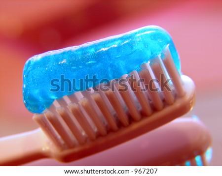 Toothbrush 02 - stock photo