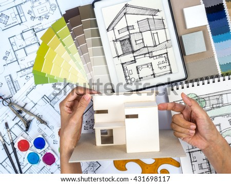 Color swatches stock photos images pictures shutterstock for Best tablet for interior designers