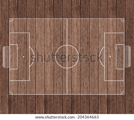 Top view of basketball court  - stock photo