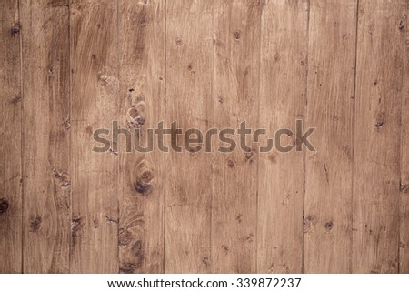 top view of wood parquet background. Vintage texture - stock photo