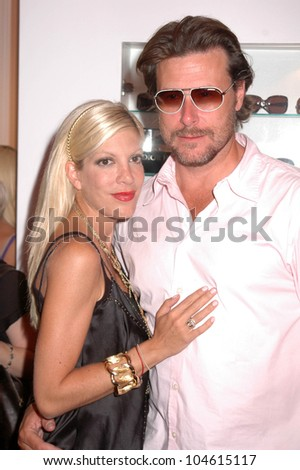 Tori Spelling and Dean McDermott at the Grand Opening of 'A Hollywood Spectacular'. A Hollywood Spectacular, West Hollywood, CA. 08-12-09 - stock photo