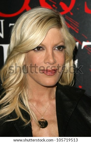 Tori Spelling  at the Los Angeles Premiere of 'The Last House On The Left'. Arclight Hollywood,Hollywood, CA. 03-10-09 - stock photo